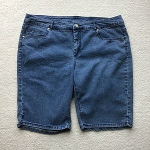9a05983772 Just My Size Shorts | Medium Rise Jean 18w Euc | Poshmark